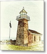 Mark Abbott Lighthouse Santa Cruz California Metal Print
