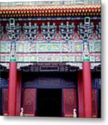 Martyrs' Shrine In Taipei Metal Print by Anna Lisa Yoder