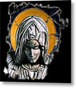 Mary Super Petram Metal Print by Steve Bogdanoff