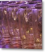Mason Jars Metal Print by Yumi Johnson