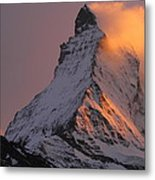 Matterhorn At Sunset Metal Print by Jetson Nguyen