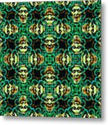 Medusa Abstract 20130131p38 Metal Print by Wingsdomain Art and Photography