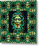 Medusa's Window 20130131p38 Metal Print by Wingsdomain Art and Photography