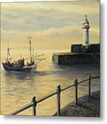 Memories Of The Old Lighthouse Metal Print by Kiril Stanchev