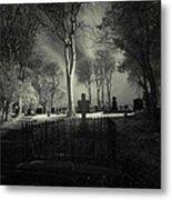 Menlo Cemetery Metal Print by Peter Skelton
