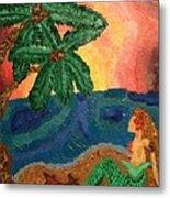 Mermaid Beach Metal Print