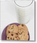 Milk And Cookies Metal Print by Greenwood GNP