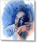 Mlk Day Metal Print