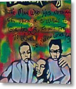 Mlk Fatherhood 1  Metal Print