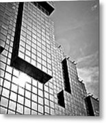 Modern Glass Building Metal Print