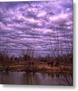 Moody Day Metal Print by Kelly Kitchens