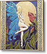 Moon Fairy Metal Print by Shannon Gresham