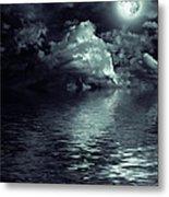Moon Mysterious Metal Print
