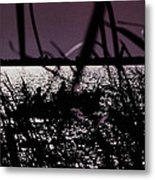 Moonlight Fisherman Metal Print by Christy Usilton