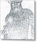 Morgoth And Fingolfin Metal Print