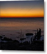 Morning Water Colors Metal Print