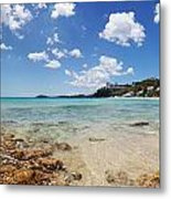 Morningstar Beach Metal Print by Jo Ann Snover