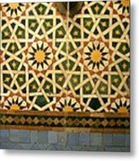 Moroccan Water Fountain Metal Print