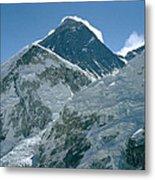 Mount Everest Morning Metal Print