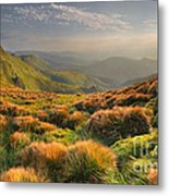 Mountains Landscape Metal Print by Boon Mee