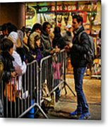 Movie Stars - The Artist Signing Autographs Metal Print
