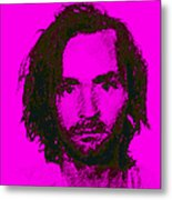 Mugshot Charles Manson M88 Metal Print