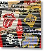 Music Street Art Color Metal Print