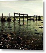 My Sea Of Ruins Metal Print by Marco Oliveira