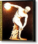 Myron's Diskobolus Metal Print by Museum Quality Prints -  Trademark Art Designs