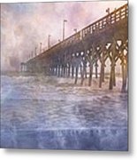 Mystical Morning Metal Print by Betsy Knapp