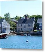 Nantucket Harbor Metal Print by Lorena Mahoney