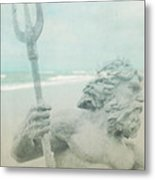 Neptune's Myth Metal Print