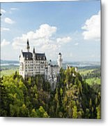 Neuschwanstein Castle Metal Print by Francesco Emanuele Carucci