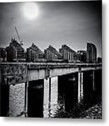 New Apartments Near Battersea Metal Print by Lenny Carter