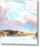 New England Landscape No.216 Metal Print by Sumiyo Toribe