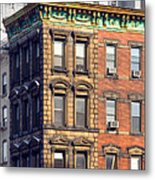 New York City - Windows - Old Charm Metal Print