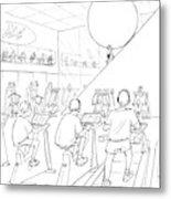 New Yorker July 20th, 1998 Metal Print by Mort Gerberg