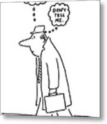 New Yorker June 20th, 1977 Metal Print by Charles Barsotti