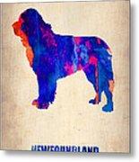 Newfoundland Poster Metal Print