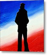 Not Self But Country Metal Print