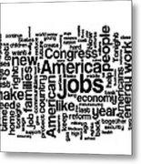 Obama State Of The Union Address - 2013 Metal Print