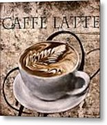 Oh My Latte Metal Print by Lourry Legarde