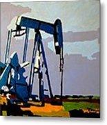 Oil Pump Metal Print