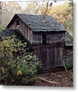 Old Grist Mill Metal Print by Thomas Woolworth
