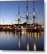 Old Ironsides Metal Print by Juergen Roth