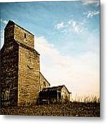 Old Lepine Elevator Metal Print by Gerald Murray Photography