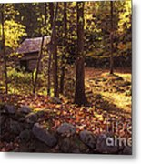 Old Mountain Shed Metal Print by Paul W Faust -  Impressions of Light