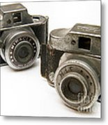 Old Toy Cameras Metal Print by Amy Cicconi