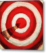 On Target Metal Print by Don Hammond