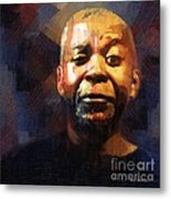 One Eye In The Mirror Metal Print by RC deWinter